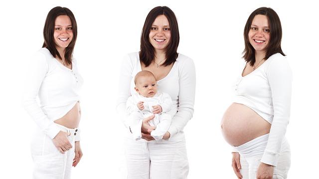 postup těhotenství