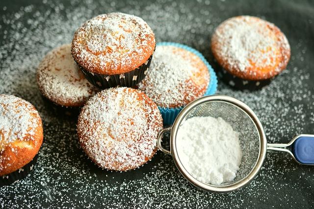 muffiny s cukrem
