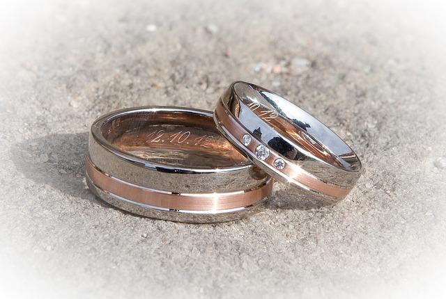 snubní prsteny s datem