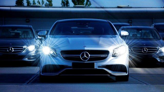 motor luxusní