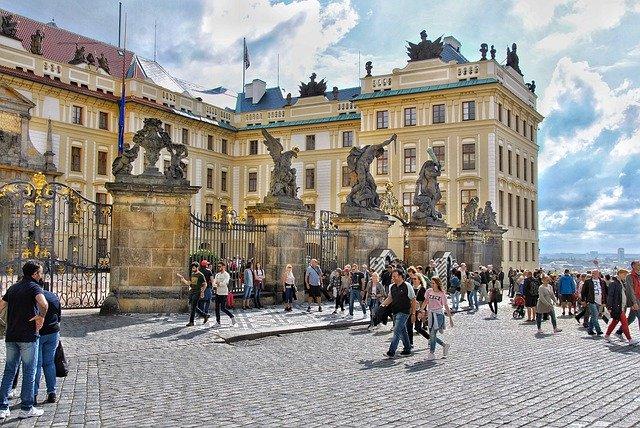 hrad v Praze
