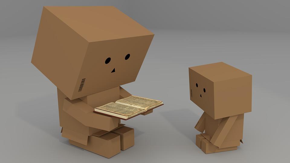Výplňový materiál do krabic nemusí být nutně starý textil a vyřazené noviny